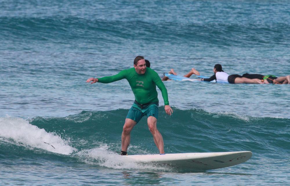 Mahalo Hawai'i - Surfen in Waikiki